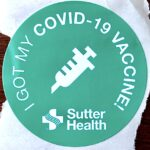 ワクチン接種シール